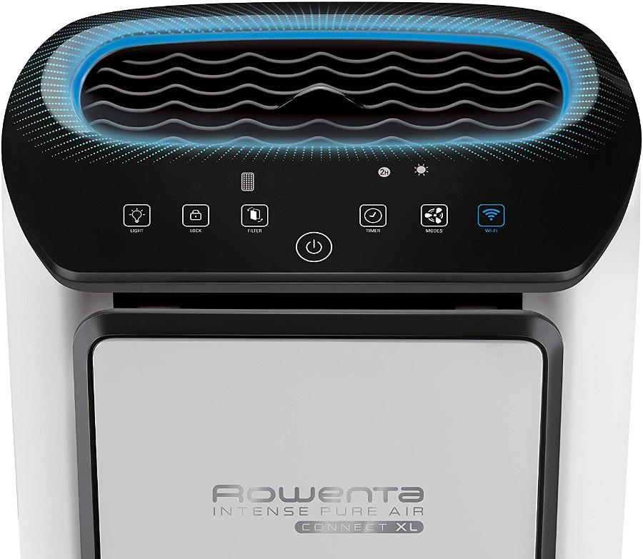 Programas y modos de funcionamiento purificador aire rowenta