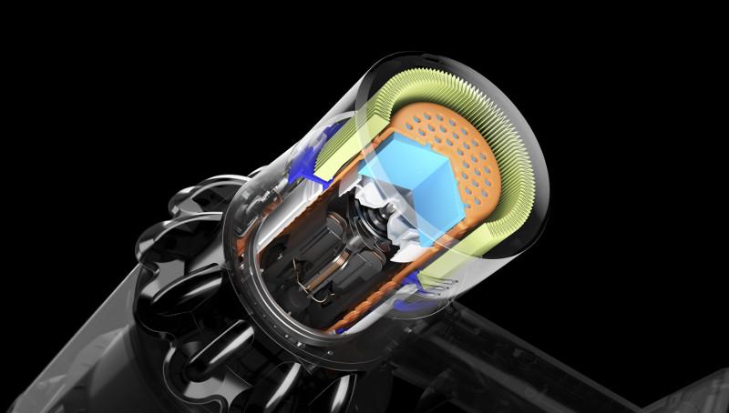 V11 Diseñada para absorber las vibraciones y mitigar el ruido, lo que la hace muy silenciosa.