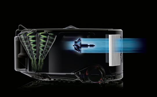 Robot-aspirador-Dyson-360-Heurist-filtro-de-salida