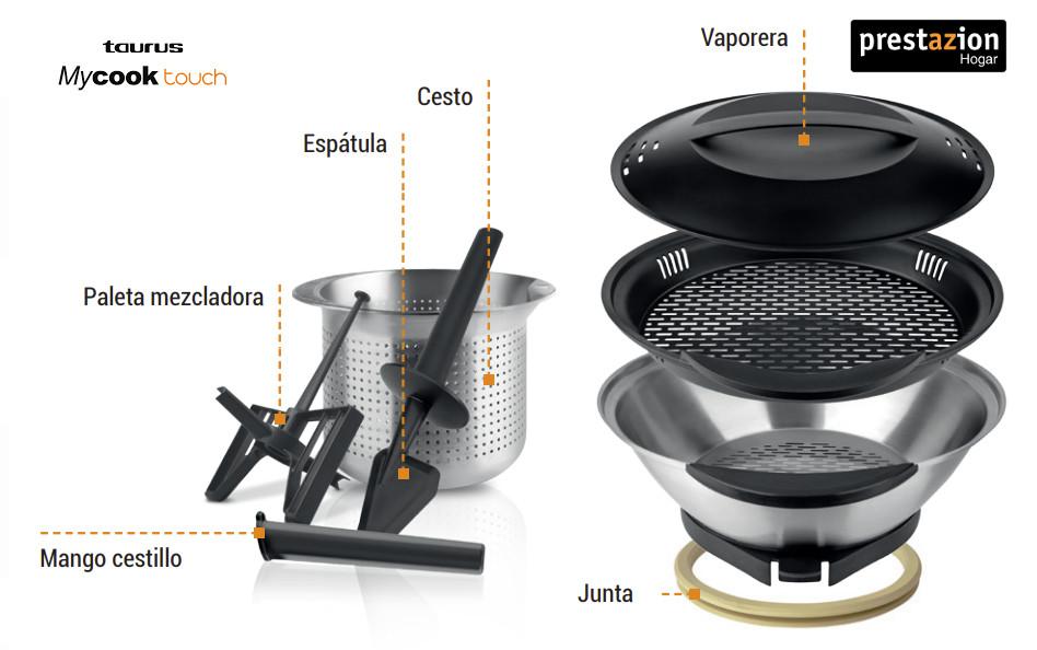 robot-de-cocina-Taurus-Mycook-Touch-