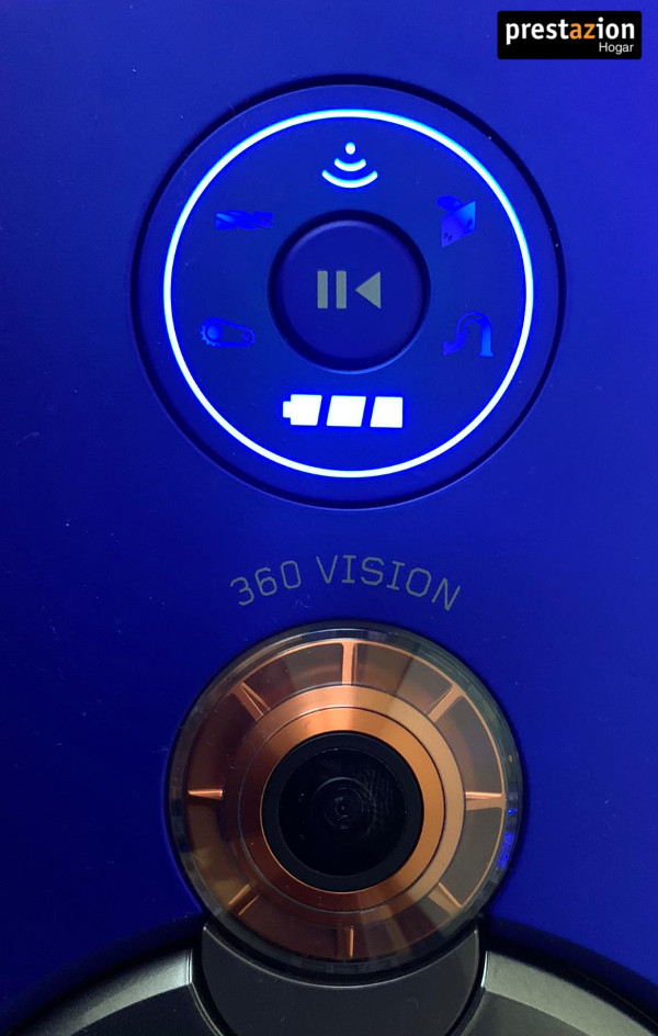Dyson 360 Heurist pantalla