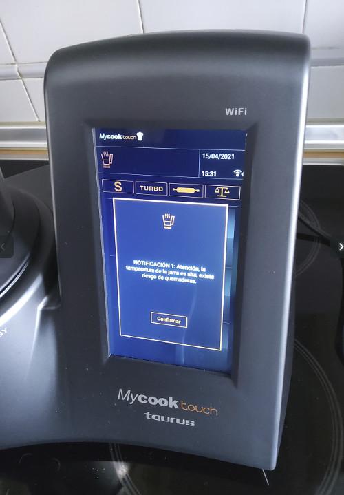 pantalla Mycook Touch