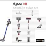 aspiradoras dyson v11 extra absolute pro con accesorios