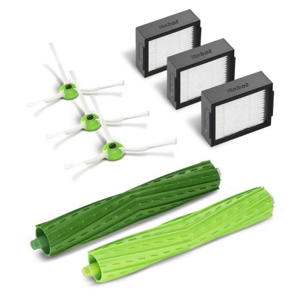 kit filtros cepillos y escobillas . Compatible con Roomba® serie e y Roomba serie i®