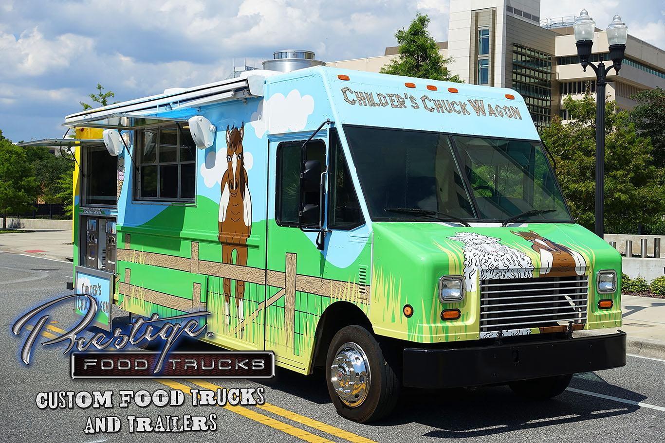 Childer S Chuck Wagon Food Truck 125 000 Prestige