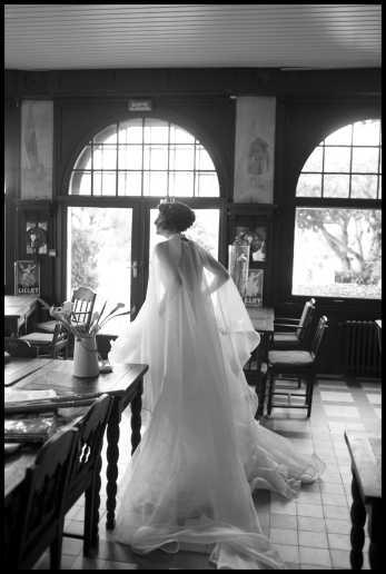 Robe mariage Lolita C. Couture sur mesure.Atelier Prestige Bordeaux