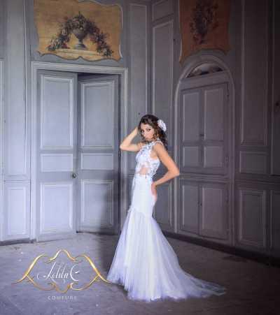 Robe de mariée sur mesure à Bordeaux