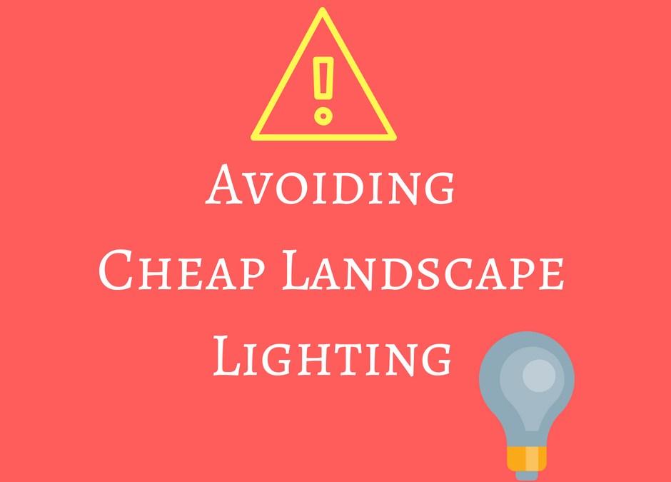 Putting the Spotlight on Cheap Landscape Lighting