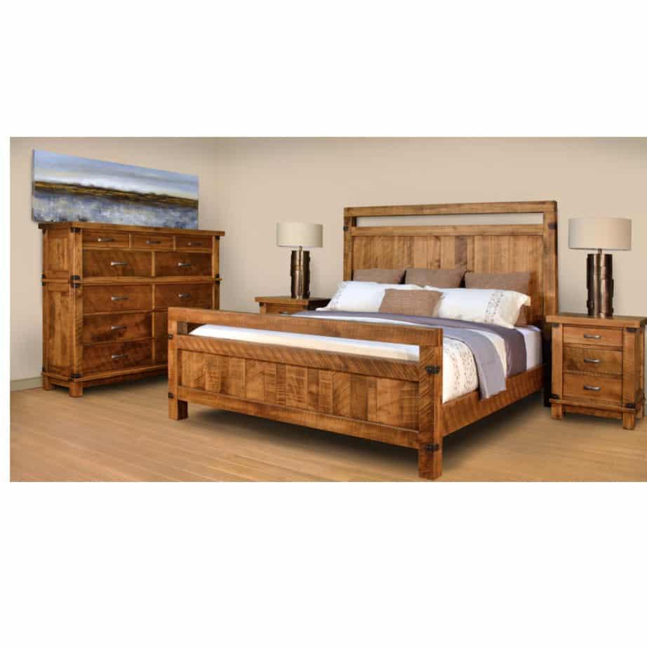 galley bed prestige solid wood