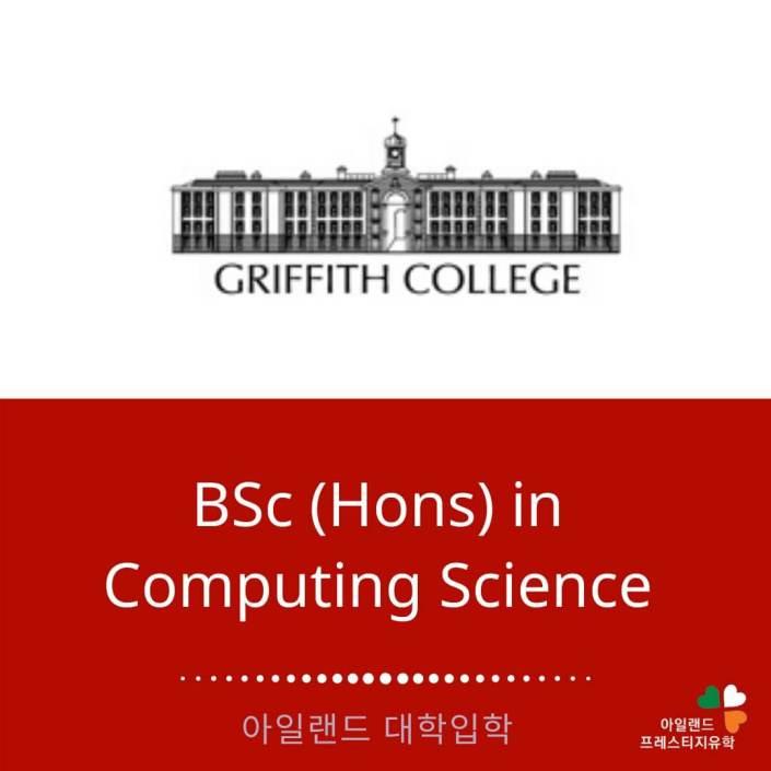 Griffith college - 그리피스컬리지- 아일랜드유학- (6) 컴퓨팅 사이언스