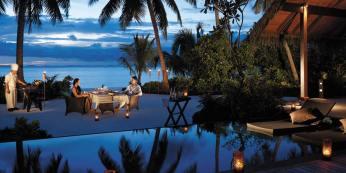 Private In Villa Dining, Shangri La Maldives, Prestigious Venues