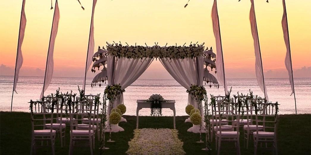 Romantic Beach Wedding Venue, InterContinental Bali Resort, Prestigious Venues