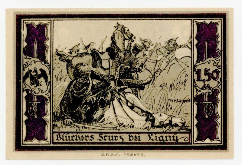 Słupscy huzarzy von Blüchera (potem pruskiego dowódcy pod Waterloo).