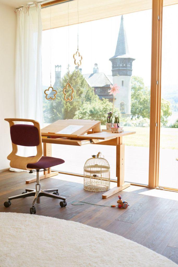 Domoteka Aksonometria biurko dla dzieci Team 7 Design