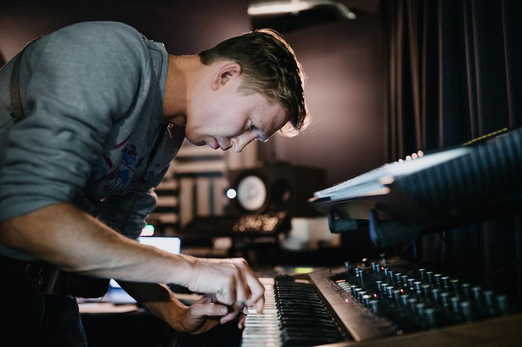 Guy on Keyboard