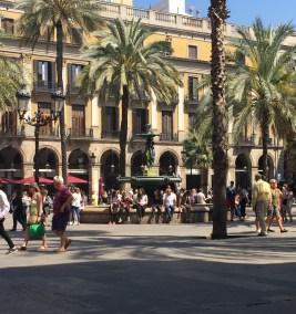 Barcelona Gothic Square