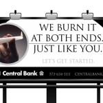 Central Bank Billboard
