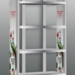 BACARDI® Torched Cherry Case Rack