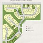 Highland Springs Plat Map. 2010