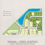 Sawmill Creek Plat Map. 2010