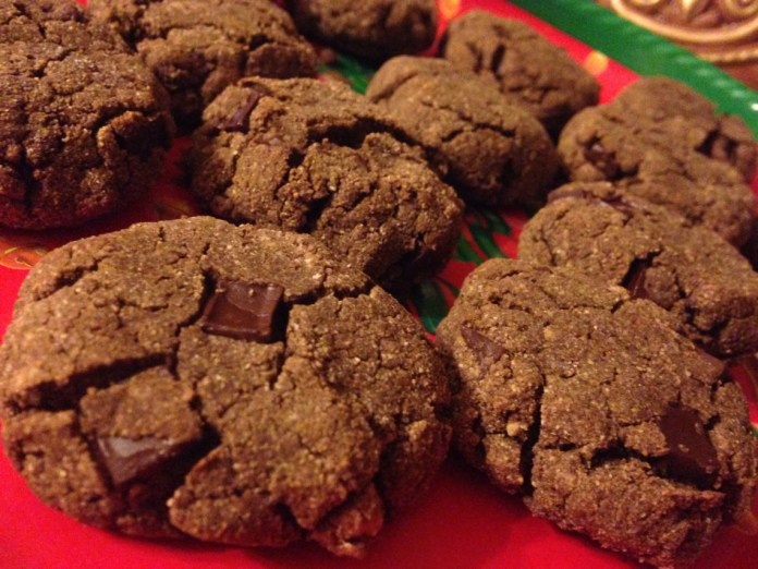 double chocolate, chocolate cookies