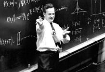 Feynman teaching