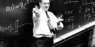 Feynman teaching