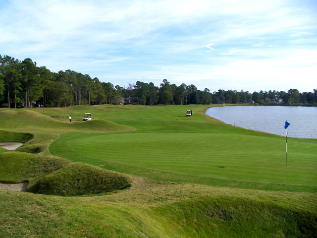 The 9th Hole Provides an Amazing Finish to the Front Nine