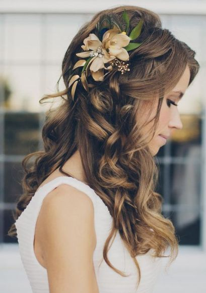 Resultado de imagen para peinados de novia naturales