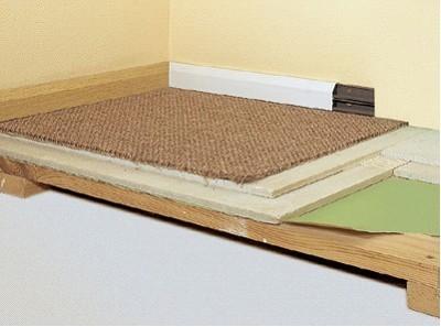 Технология укладка плитки на деревянный пол с применением ...