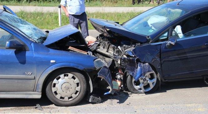 V minulem dnevu obravnavali kar tri prometne nesreče