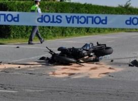 Motorist trčil v divjad in na kraju nesreče podlegel poškodbam