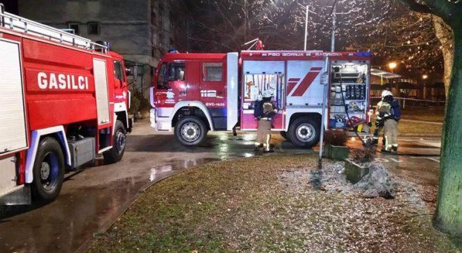 Dobrovnik: Zagorelo v drvarnici, požar se je razširil tudi na ostrešje stanovanjske hiše