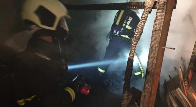 Drakovci: Požar na stanovanjski hiši, škode za 10.000 evrov