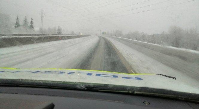 Gorenjski policisti opozarjajo, nikar na pot brez zimske opreme