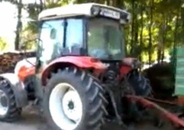 Neznanec kradel gorivo iz traktorja in delovnega stroja nad Volčami