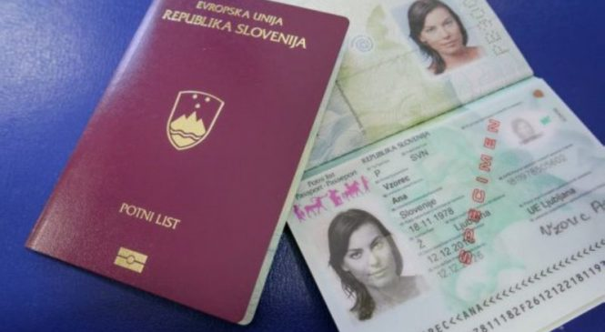 V Slovenijo vstopil s ponarejenim dokumentom