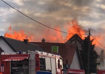 VIDEO: V Murski Soboti zagorela hiša, vzrok še ni znan
