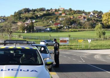 V treh dneh poostrenega nadzora prometa, policisti zaznali 80 kršitev voznikov