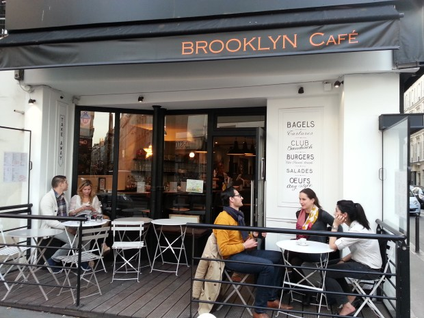 Brooklyn Cafe Paris Terrace