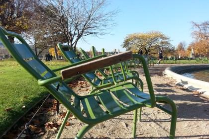 Tuileries garden chair paris