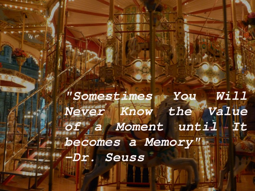 Paris merry go round memory quote