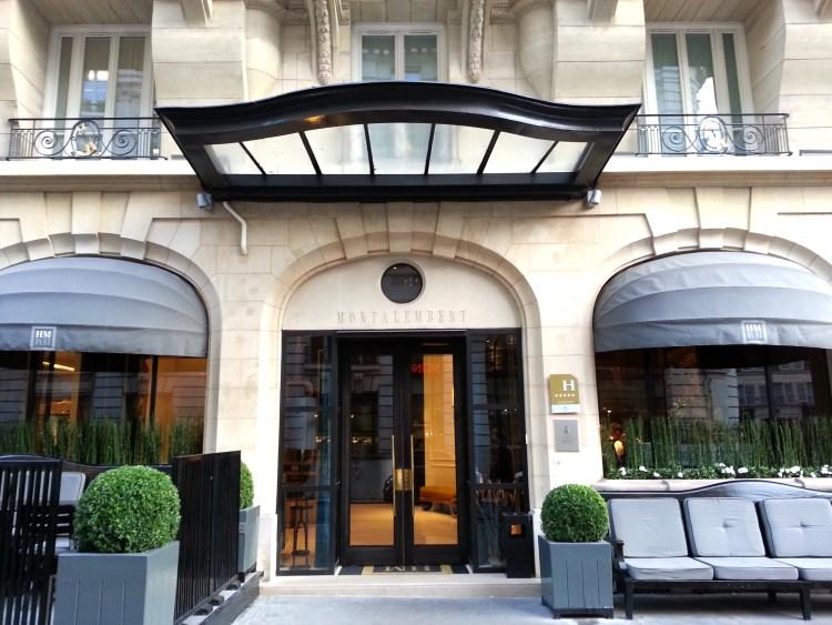 charming hotel facade