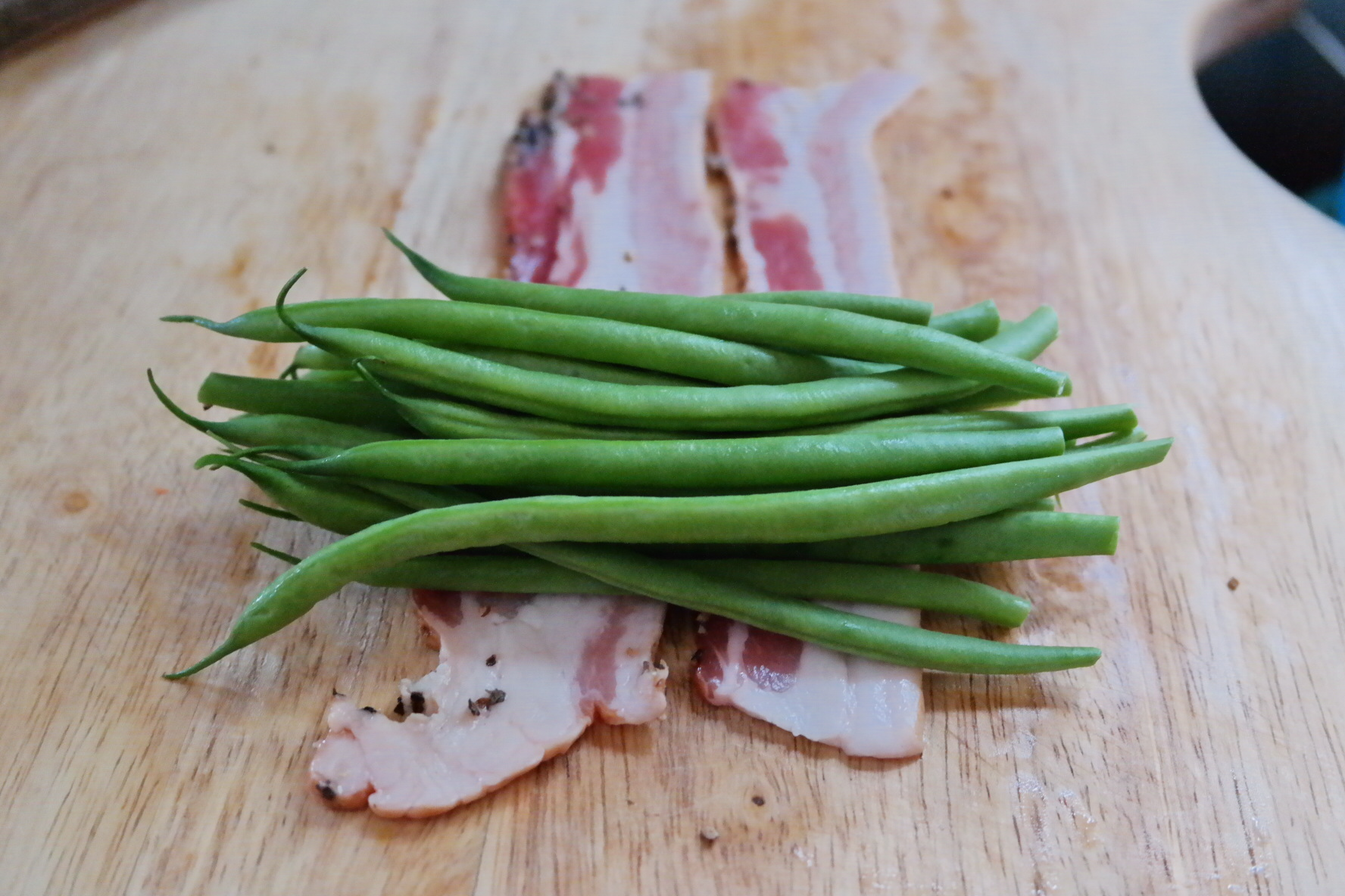 how to cook green beans with bacon in the oven