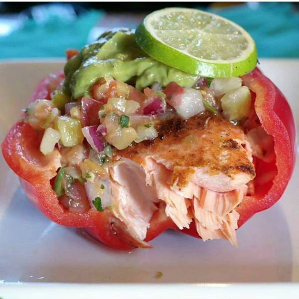 Is stuffing a bell pepper considered tacotuesday? Its stuffed withhellip