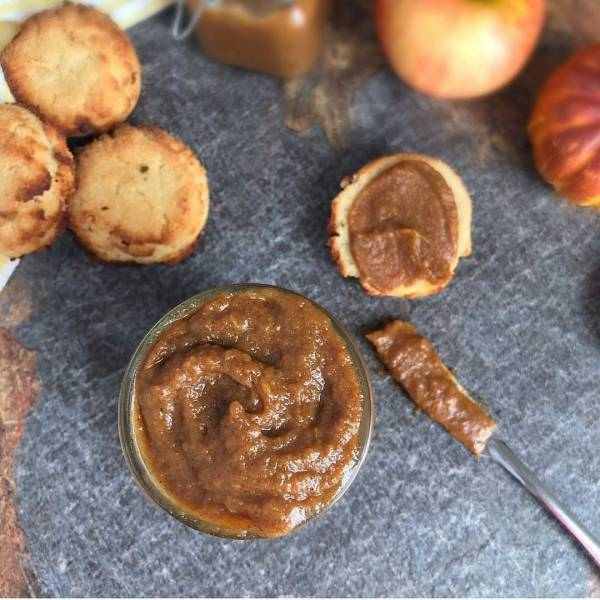 Doesnt this Apple Pumpkin Butter from cocospaleokitchen make you wanthellip