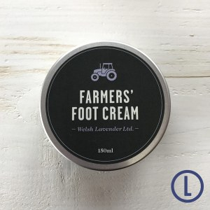 Farmers Welsh Lavender Foot Cream