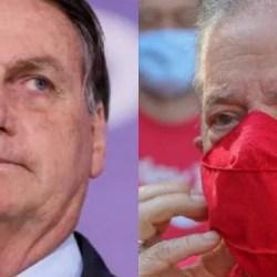 Eleições 2022: pesquisa CNT/MDA mostra Lula à frente de Bolsonaro