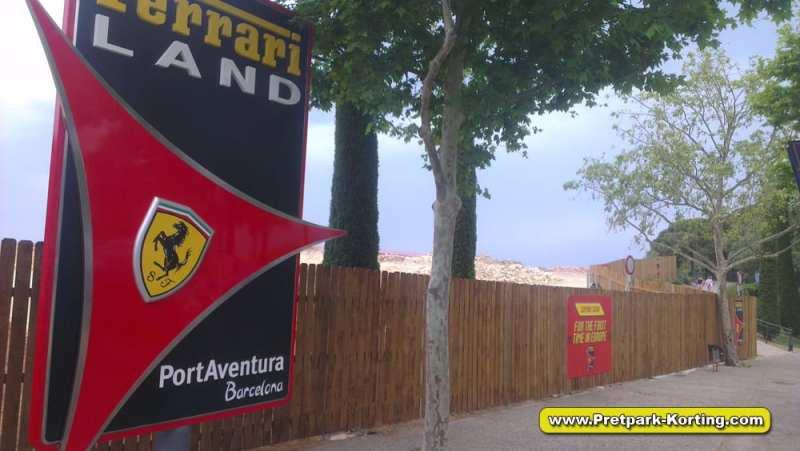 PortAventura pretpark Spanje - Ferrari land