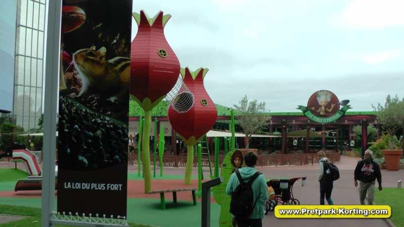 Futuroscope pretpark Frankrijk - Arthur, l'Aventure 4D& restaurant